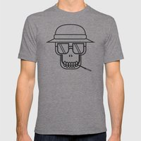 Fear & Loathing Mens Fitted Tee Tri-Grey SMALL