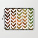 Nebula Chevrons Laptop Sleeve