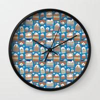 Pattern Project #40 / Li… Wall Clock