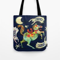 Night Horse Tote Bag