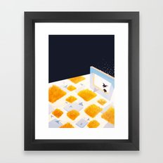 Rectangle of Light Framed Art Print