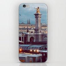 Paris lights. iPhone & iPod Skin