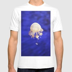 Jellyfish Mens Fitted Tee White SMALL