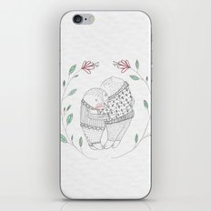 love cat iPhone & iPod Skin