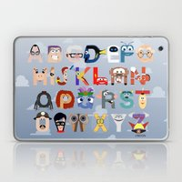 P is for Pixar (Pixar Alphabet) Laptop & iPad Skin
