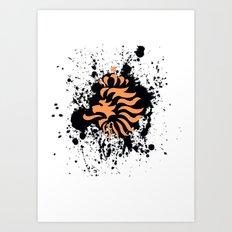 knvb royal lion Art Print