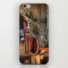 1960's Training Jet. Chrome Plated! iPhone & iPod Skin