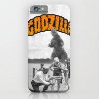 iPhone & iPod Case featuring godzilla  by sr casetin