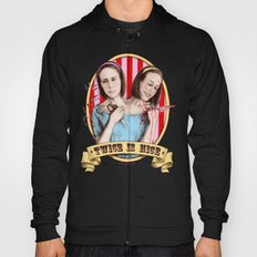 Tattler Twins (color) Hoody