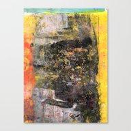 Mono In Color Canvas Print