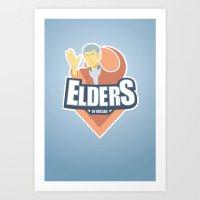 Elders of Vulcan Art Print