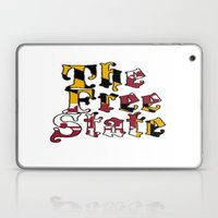 Free State white Laptop & iPad Skin
