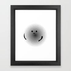 Moirè Friend Framed Art Print