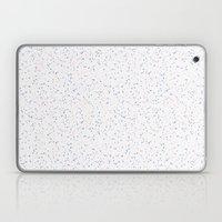 Speckles I: Rose Quartz & Serenity on Snow Laptop & iPad Skin