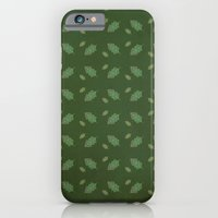 iPhone & iPod Case featuring leaf pattern by Thefunctionalfox