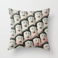 AAAA! II Throw Pillow