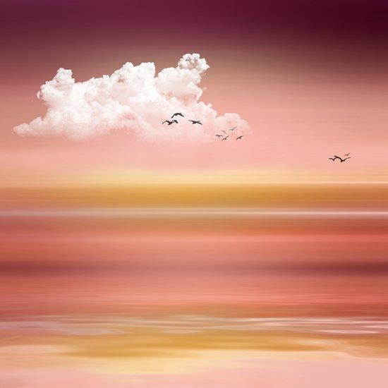 FROM DUSK TO DAWN - a golden sunset Art Print