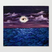 Canvas Print featuring I in the Sky by Marisabel Lavastida