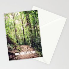 HIKE/RUN/EXPLORE Stationery Cards