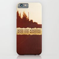 iPhone & iPod Case featuring wonder + wander. by lissalaine