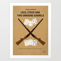 No441 My Lock, Stock And… Art Print