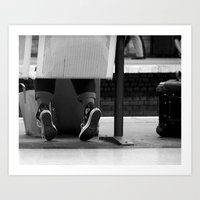 Waiting #7 Art Print