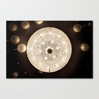 Party Lights Canvas Print
