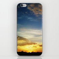 Feel The Sunset iPhone & iPod Skin