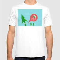 Greestmas. Save Xmas Tre… Mens Fitted Tee White SMALL