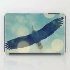 Bald Eagle Overhead iPad Case
