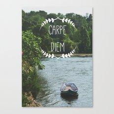 Carpe Diem - Seize the Day Canvas Print