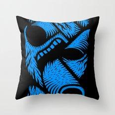 Le mangeur - the print! Throw Pillow