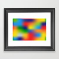 Abstract Colorful Illust… Framed Art Print
