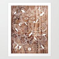 Fever Dreams Art Print