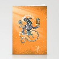 Astro Zodiac Force 08: R… Stationery Cards