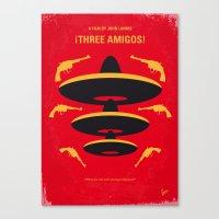 No285 My Three Amigos Mi… Canvas Print