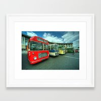 Bristol Line Up  Framed Art Print