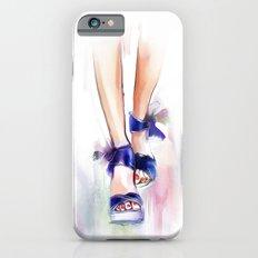 blue boots Slim Case iPhone 6s