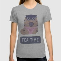Boggart Tea Time Womens Fitted Tee Athletic Grey SMALL