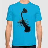 Safe Mens Fitted Tee Teal SMALL