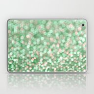 Laptop & iPad Skin featuring Holiday Cheer Mint by Lisa Argyropoulos