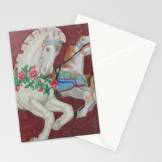 Carousel Race Stationery Cards
