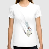 The Missing Wampa Scene Womens Fitted Tee White SMALL