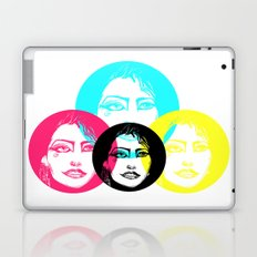 CMYK Punk Laptop & iPad Skin