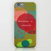 iPhone Cases featuring Everything is Connected by Olivia Joy StClaire