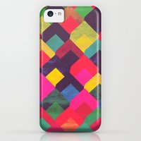 iPhone 5c Cases featuring colour + pattern 11 by Georgiana Paraschiv