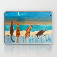 Cats On A Fence Laptop & iPad Skin