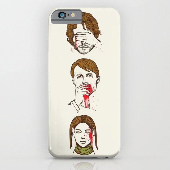 No Evil Hannibal iPhone & iPod Case