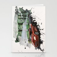 Keep Driving  Stationery Cards