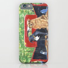 Antique Truck with Dogs Slim Case iPhone 6s